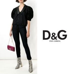 Dolce & Gabbana Pretty Very Tight Fit Black Jeans